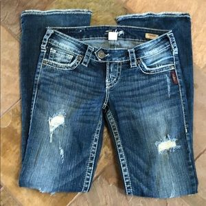 Silver Jeans size 26x31